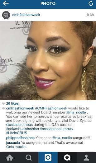fashion week annoucement