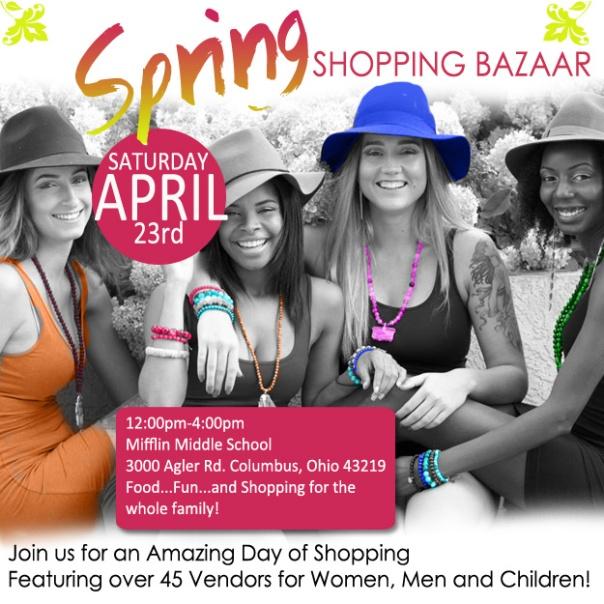 Spring Bazaar Flyer